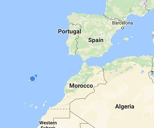 A Major Error Landing In Porto Santo Island Instead Of Porto